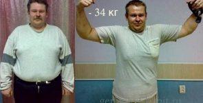 Совет мужчинам - как похудеть в области живота – реальные результаты похудения с фото