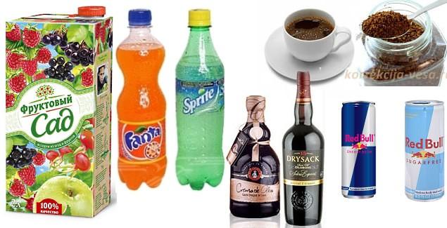 Привычные напитки – вредные привычки