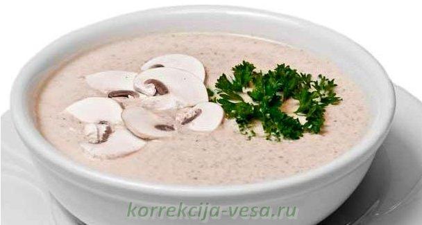 Суп - крем из шампиньонов