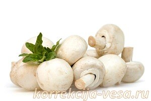 Ингредиенты для гречки с грибами в мультиварке