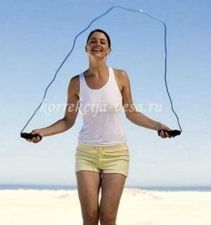 Фитнес на скакалке