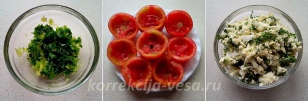 Как готовить фаршированные помидоры