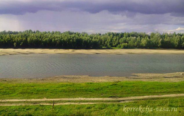 Река-в Новосибирском крае