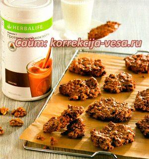 Малокалорийное печенье рецепт
