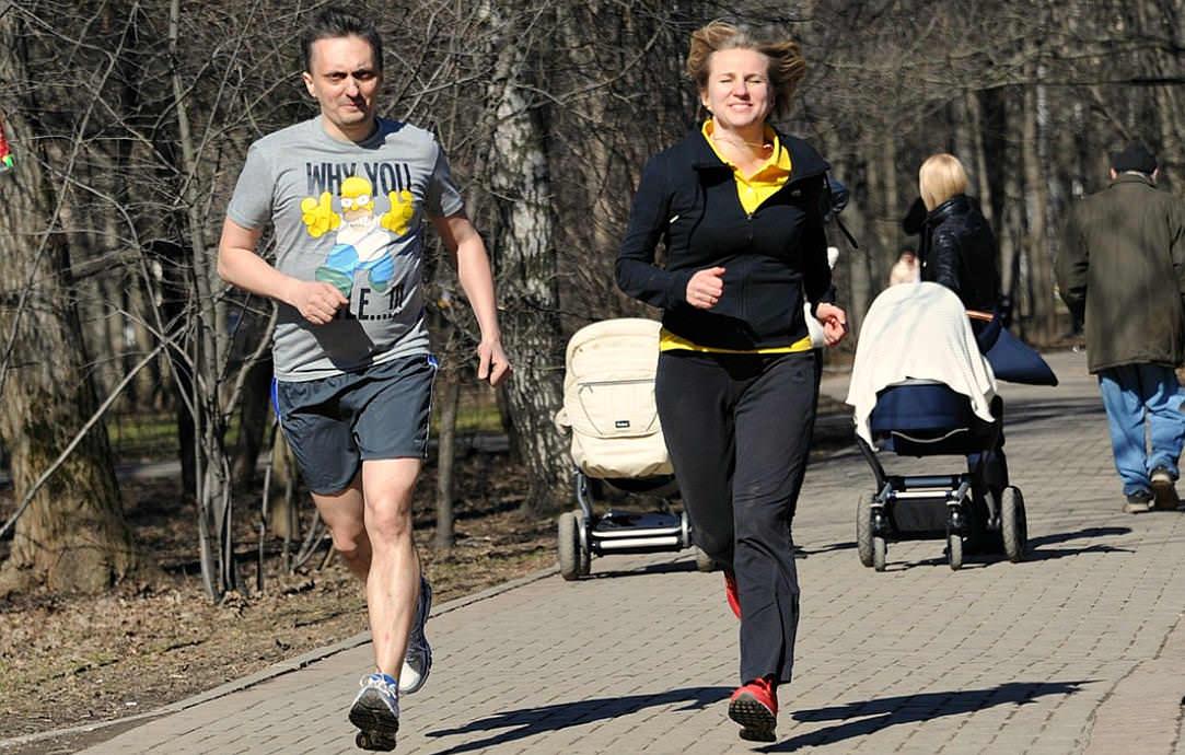 Легкий бег на свежем воздухе