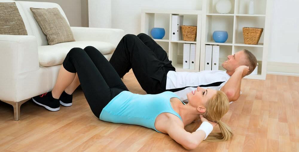 Занимаемся фитнесом дома