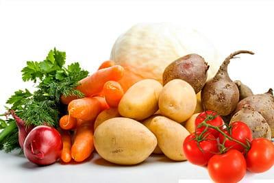 Овощи для сибирского борща