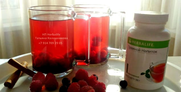 Ягодные напитки с добавлением Травяного и Алоэ Herbal