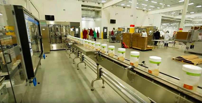 Производство продукции для снижения веса