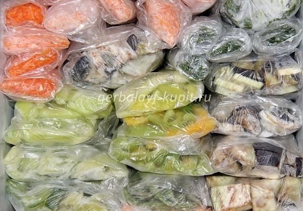 Заморозка овощей ассорти в домашних условиях