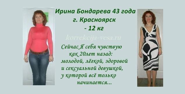 Реальные отзывы похудевших / Минус 12 кг