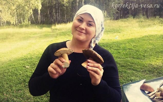 На активном отдыхе - природа Новосибирска