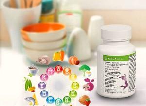 Витамины для правильного питания
