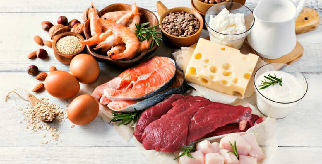 Продукты содержащие протеин