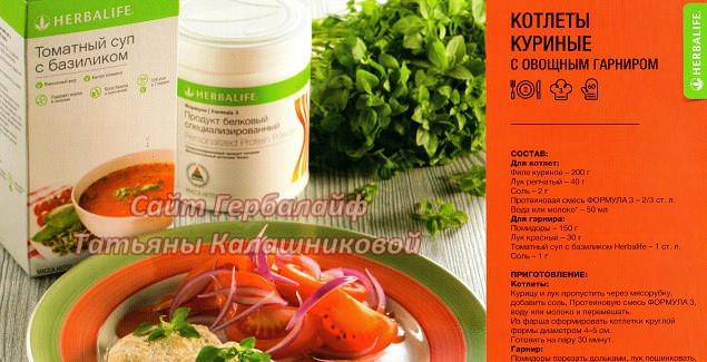 Куриные котлеты с овощным гарниром / Рецепт от Независимого Партнера