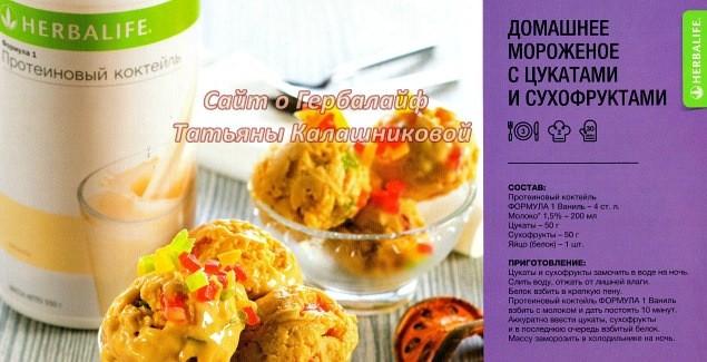 Готовим вкусности по домашнему рецепту / Мороженое с цукатами