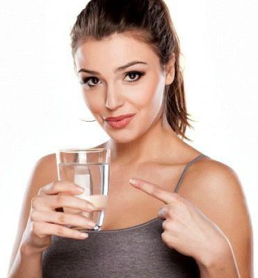 Вода ускоряет обмен веществ