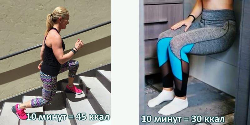 Сколько можно сжечь калорий