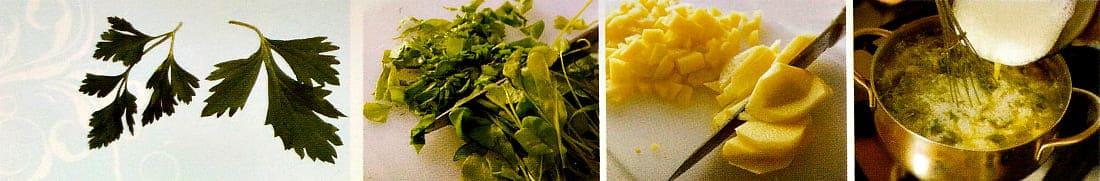 Рецепт зеленых щей с крапивой